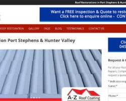 Roofing Restoratin Hunter Valley, Newcastle & Port Stephens