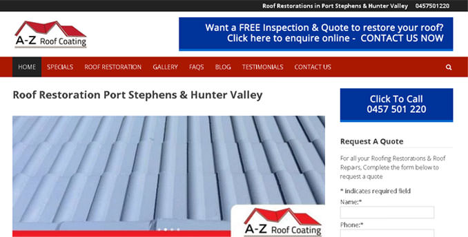 Roofing Restoratin Hunter Valley, Newcastle & Port Stephens