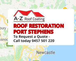 Roof Restoration Port Stephens