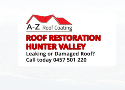 Roof Restoration Hunter Valley