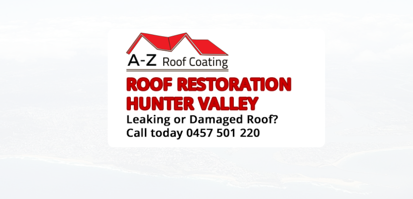 Roof Restoration Hunter Valley