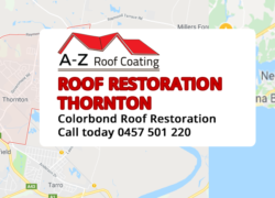 Colorbond Roof Restoration Thornton